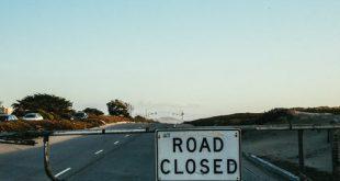 اغلاق طريق