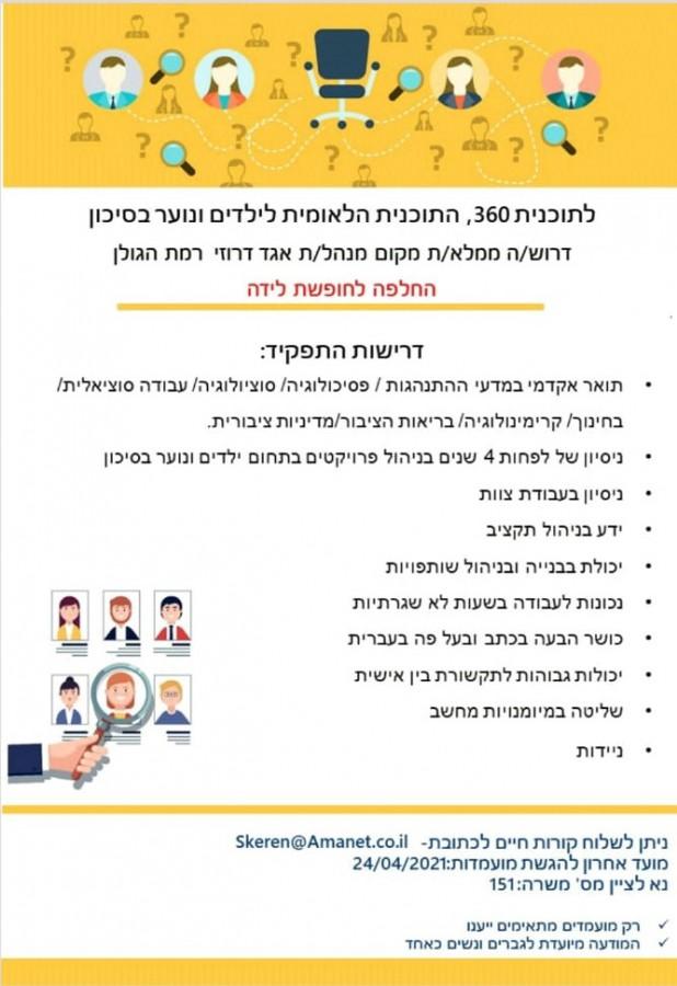 תוכנית לאומית לילדים בסיכון